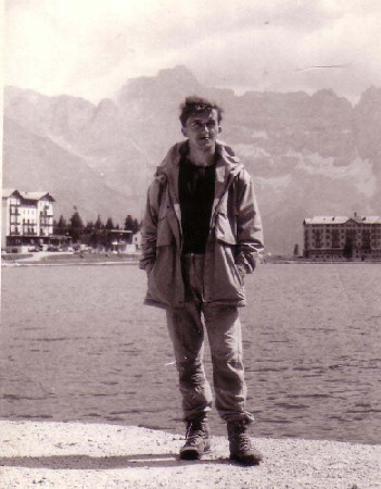 Jaro na Lago di Misurina, 1987.