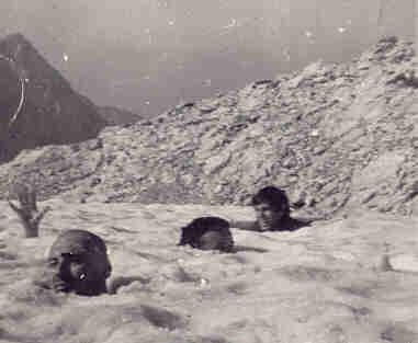 Kupanje u snijegu, Prenj 1969.