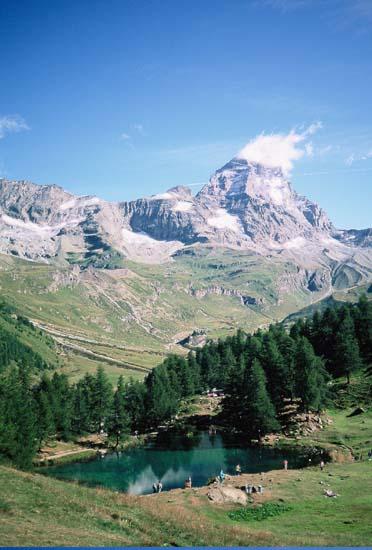 S ove strane zove se Monte Cervinio