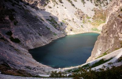 Modro jezero u Imotskom
