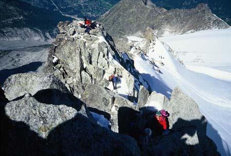Uspon u skupini Mt. Blanca (Pettit A. Verde, 2000.)