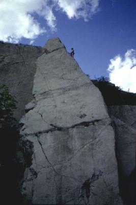 Manja stijena u Prokopskim udolima