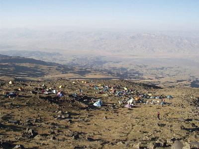 Prvi logor na 3200 m