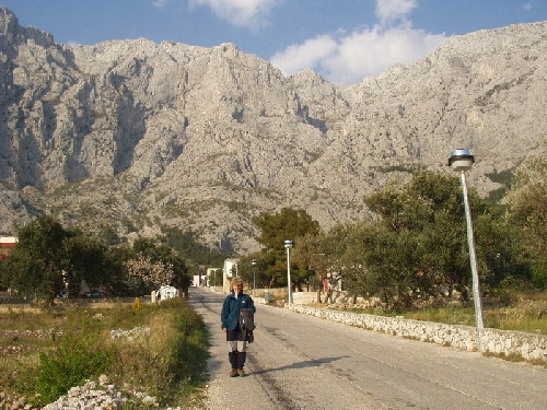 Stijene iznad sela Veliko brdo