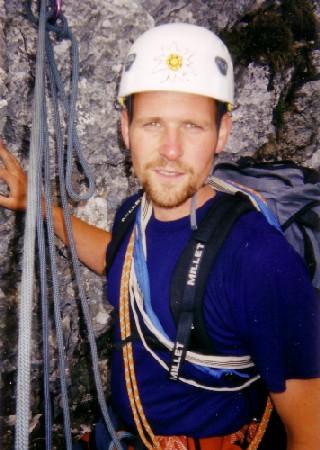 Marko - Medek u stijeni Debele peči, 2002.