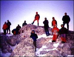 vrh Bijelih stijena, 2000.