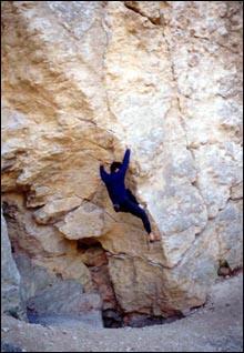 Bouldering, Francia Banya