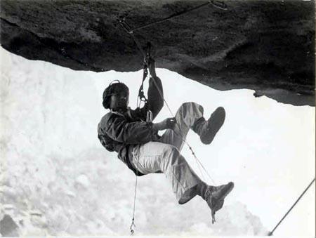Penjanje u Knezovoj špilji, 1984.