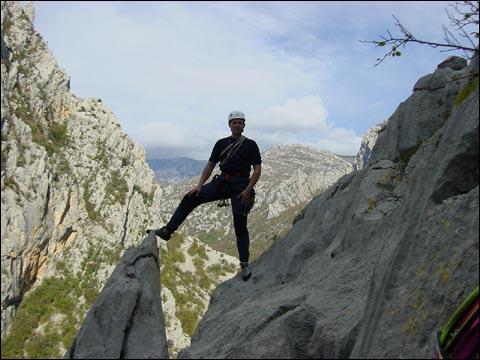 Marko Vučinić, izlaz iz smjera Sjeverno rebro