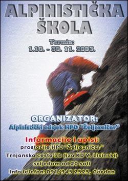 Plakat škole 2003
