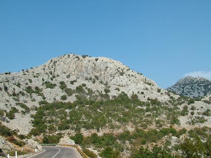 Stijena nad Karlobagom