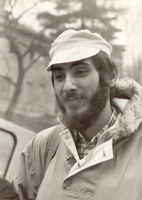 Vavo pred ekspediciju na Kavkaz 1974.